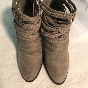 Fergalicious ankle booties/ Final sale price